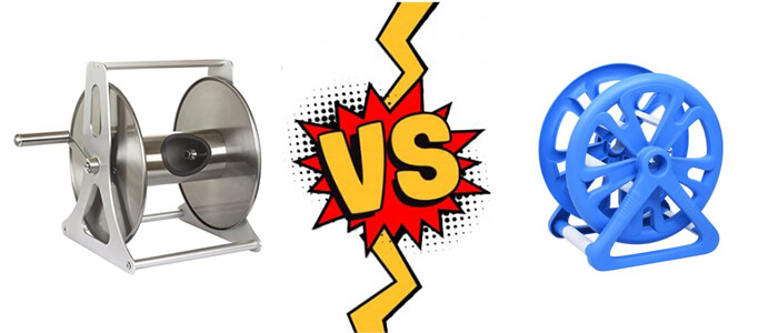 Metal vs Plastic Hose Reel - Which is better?