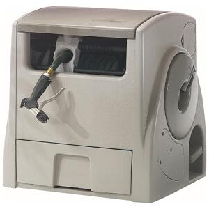 Powerwind 100-Foot Capacity Automatic Rewind Garden Hose Reel